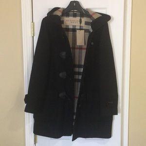 Authentic NWT  Burberry wool duffle coat